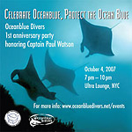 Captain Paul Watson of Sea Shepherd to speak at Oceanblue Divers Photo