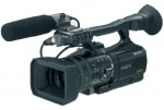 Review of Sony's new HVR-V1U HDV Compact Camcorder Photo