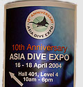 Asian Dive Expo Report by Jason Heller Photo