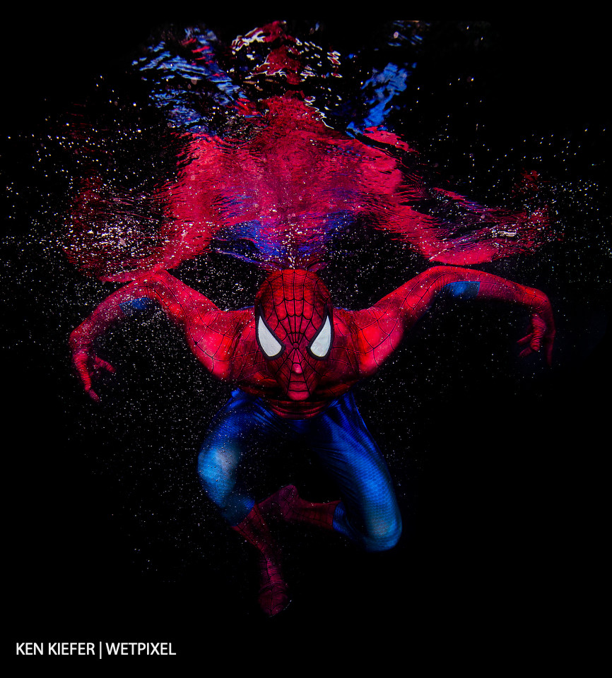 Spider-Man's amazingness doesn't stop when he heads underwater.