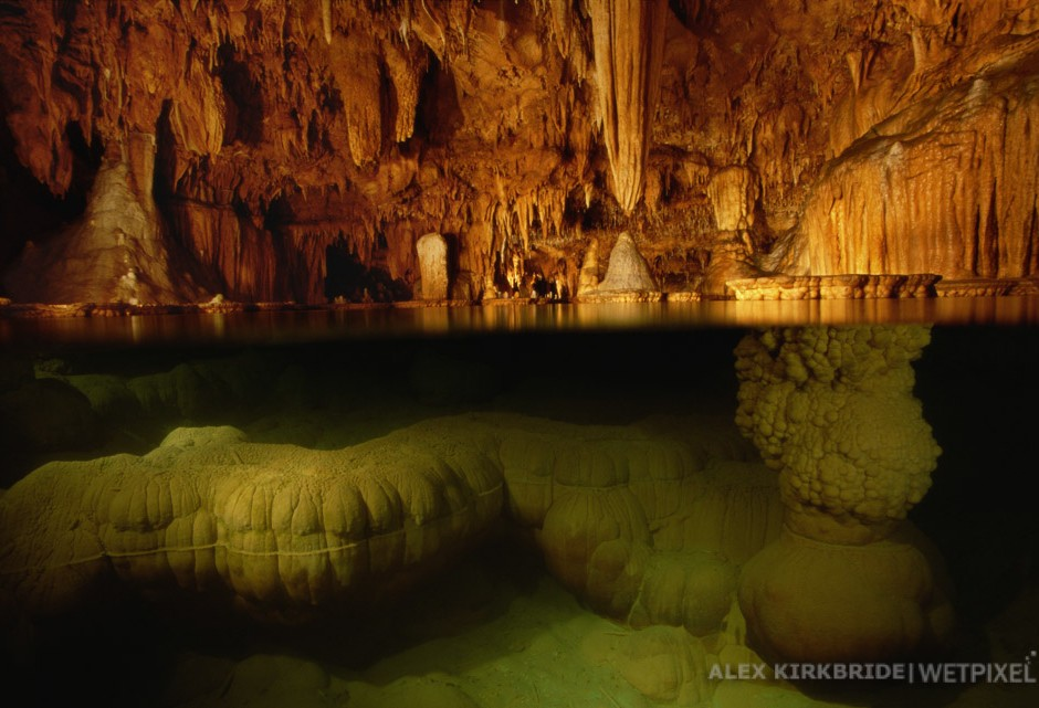 The Lily Pad Room, Onondaga Cave State Park, Leasburg, Missouri.