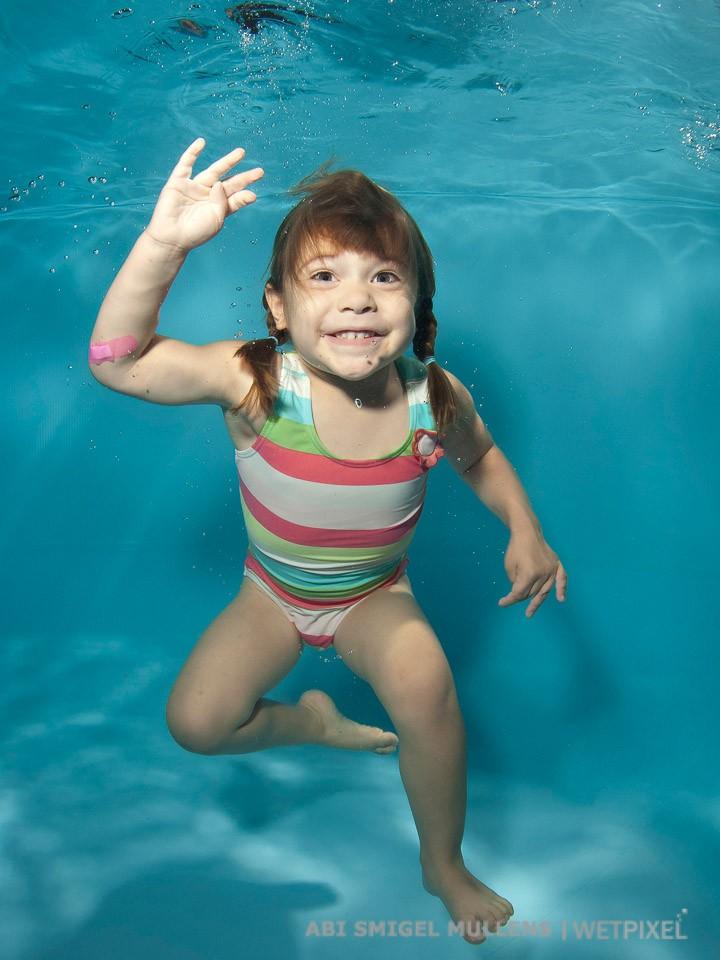 """""""Hi, I'm underwater!"""""""