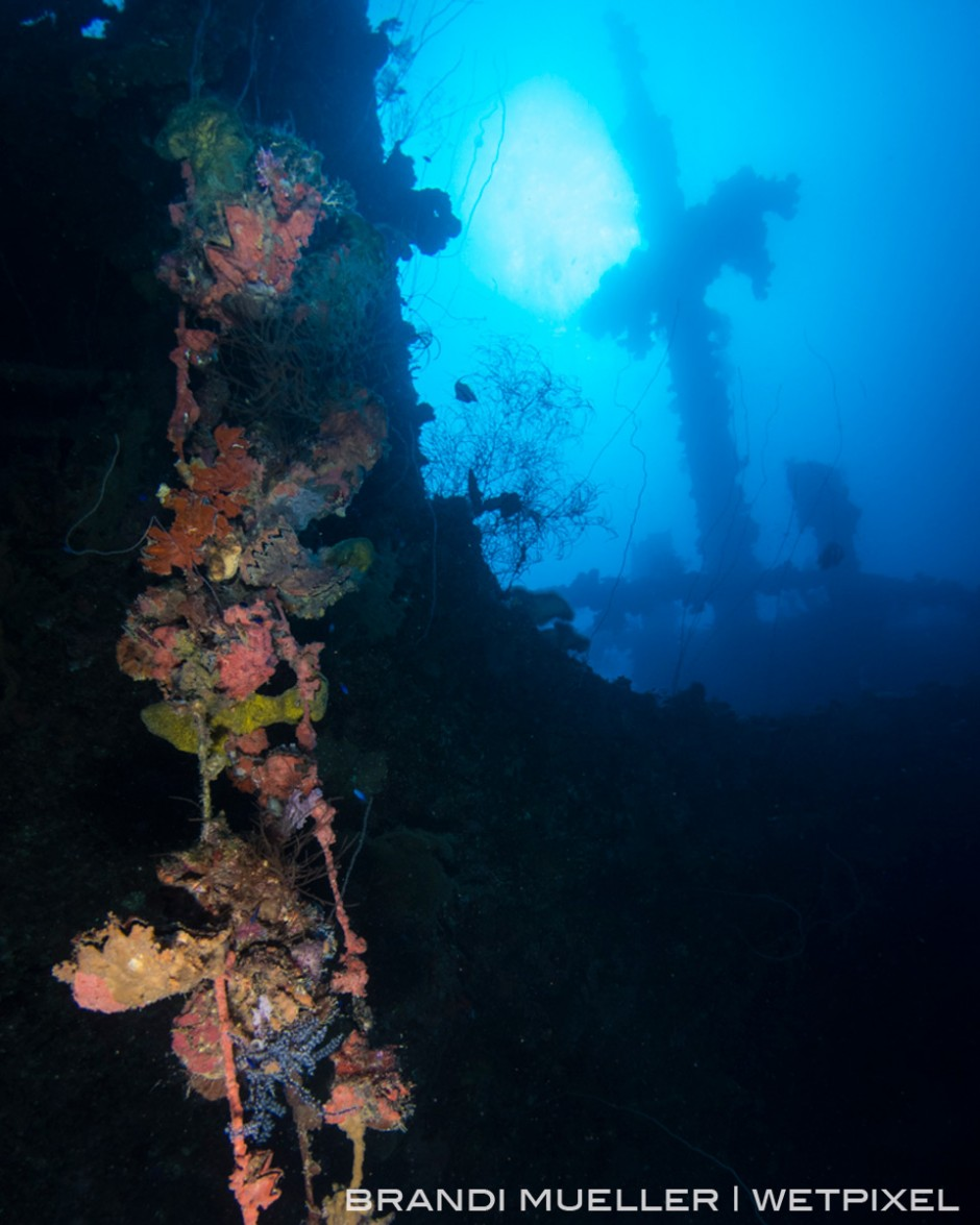 The Seiko Maru, one of many Japanese ships sank during WWII's Operation Hailstone in 1944.