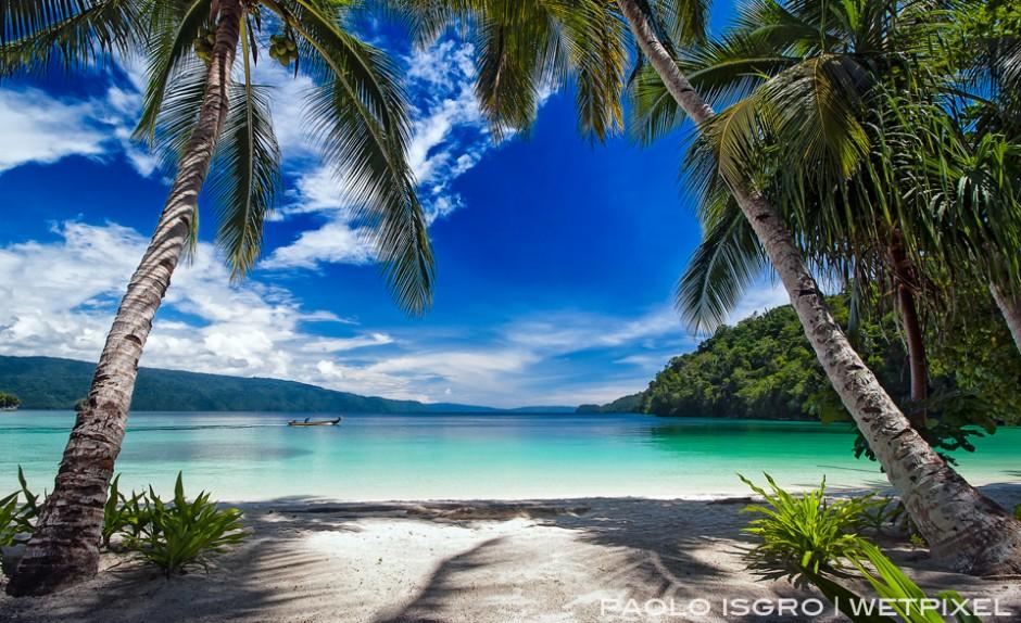 The beach of the Triton Bay Resort