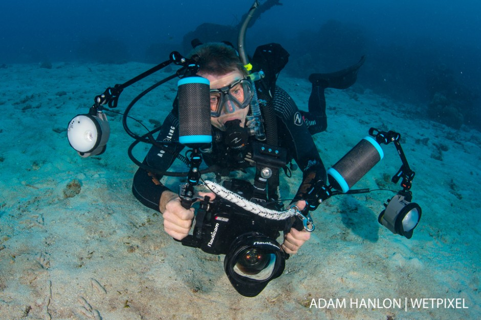 Mike Ball Dive Expeditions owner Mike Ball is still actively diving and taking pictures underwater!