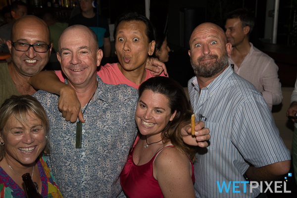 Wetpixel party at ADEX