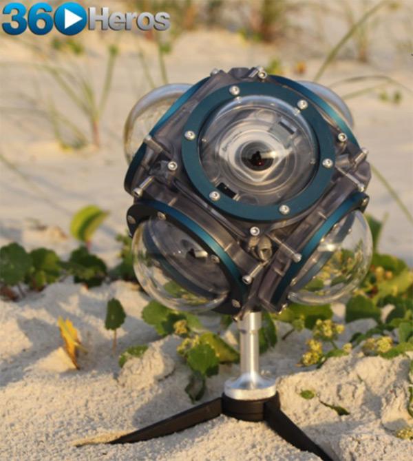Подводная видеосъемка на 360 градусов