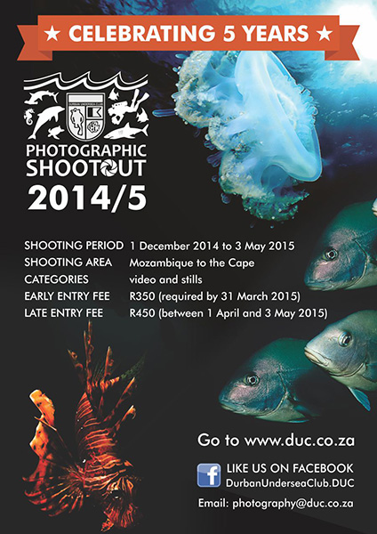 Durban Undersea Club Shootout 2015