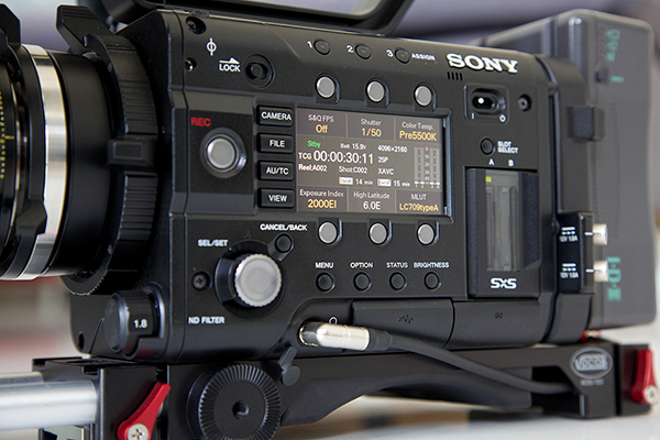 Sony F5 hacked to record 4K on Wetpixel