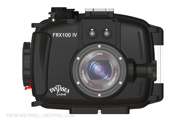 FRX100 IV housing on Wetpixel