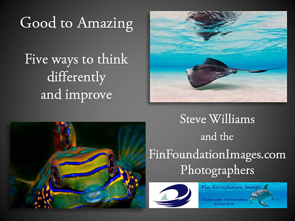 Wetpixel's Steve Williams @ LAUPS