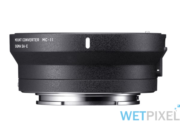 Sigma MC-11 E mount converter on Wetpixel