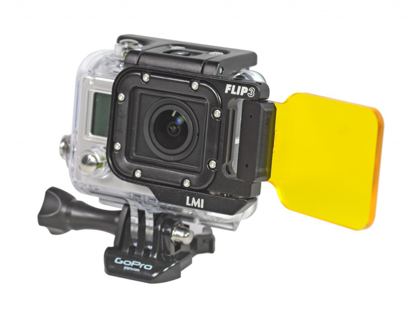 Light & Motion GoPro fluorescence filter