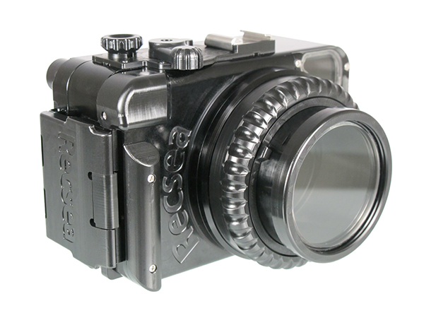 Recsea RX100 II housing on Wetpixel