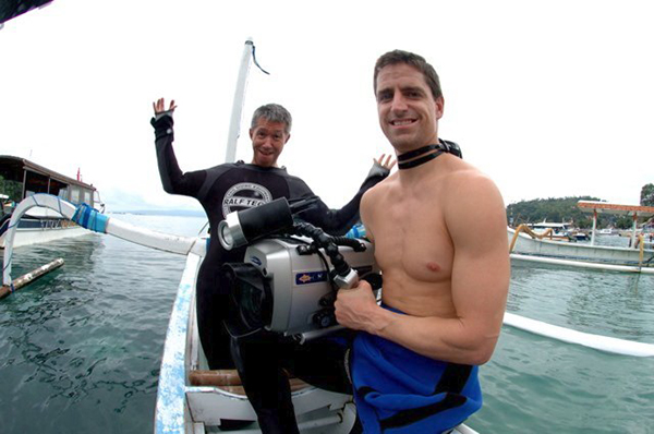 Shawn Heinrichs and Hannah Fraser on Wetpixel