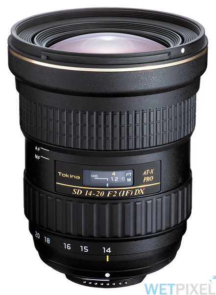 Tokina 14-20 f2 on Wetpixel