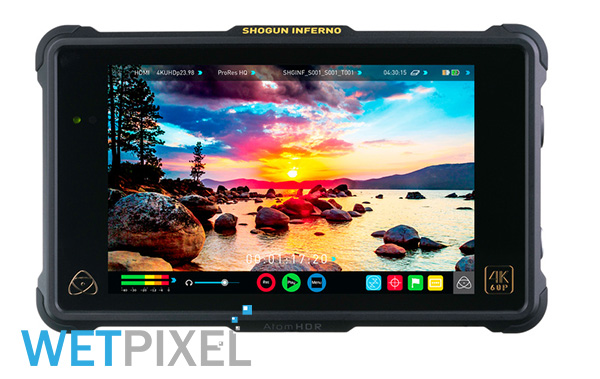 Atomos ProRes RAW support on Wetpixel