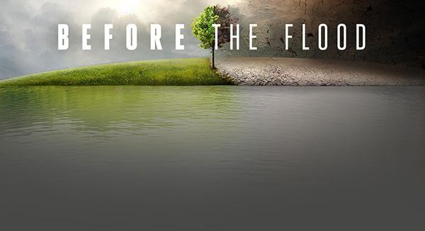 Леонардо Ди Каприо вместе с журналаом National Geographic выпустила фильм под названием «До Потопа».