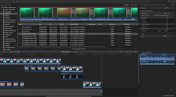 Final Cut Pro on Wetpixel
