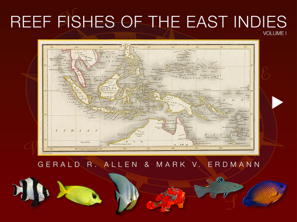 Reef Fish of the East Indies app on Wetpixel