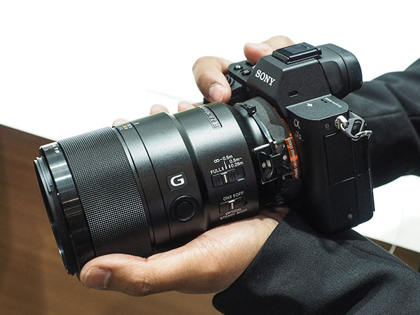 sony 90mm macro. the new e mount lenses are designed for full-frame sony mirrorless cameras and include fe 90mm f/2.8 macro g oss a 28mm f2 primes, latter with