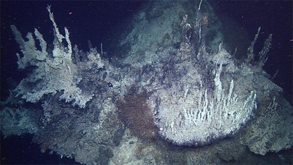 Самые глубокие жерла Тихого океана
