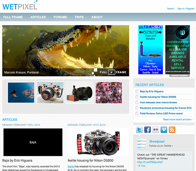 Wetpixel Redesign