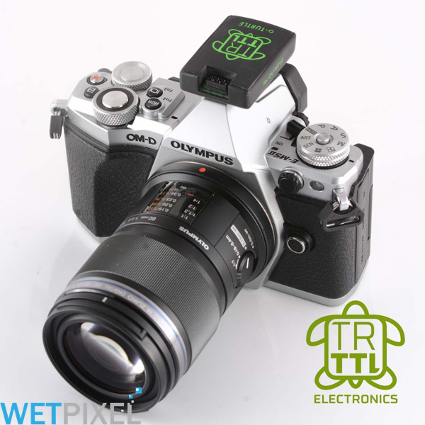 TRT-Electronics ships the o-Turtle TTL flash trigger for Olympus