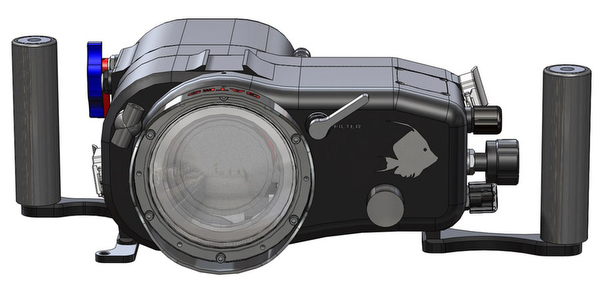 Подводный бокс для Sony FDR-AX100 4K