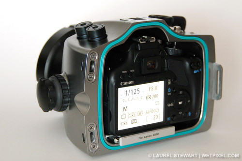 Watershot WDS-450D underwater housing for Canon Rebel XSi