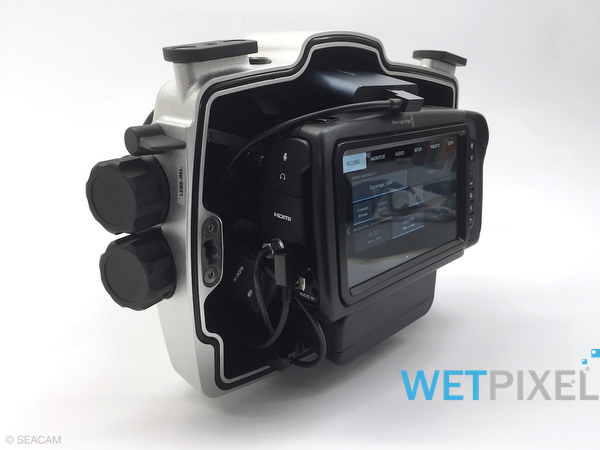 Seacam Announces Housing For Black Magic Pocket Cinema Cameras Wetpixel Com